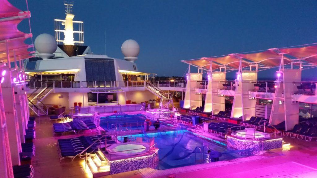 Celebrity Solstice pool area