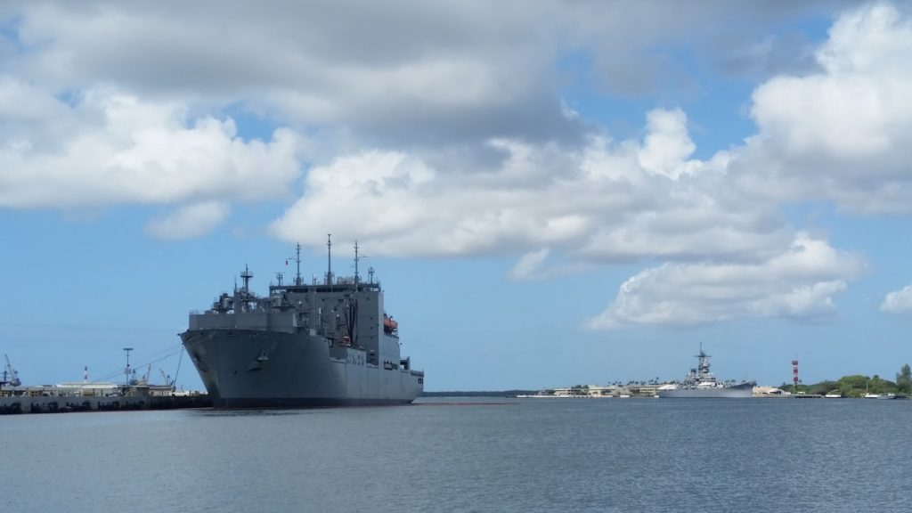 Pearl Harbour ship
