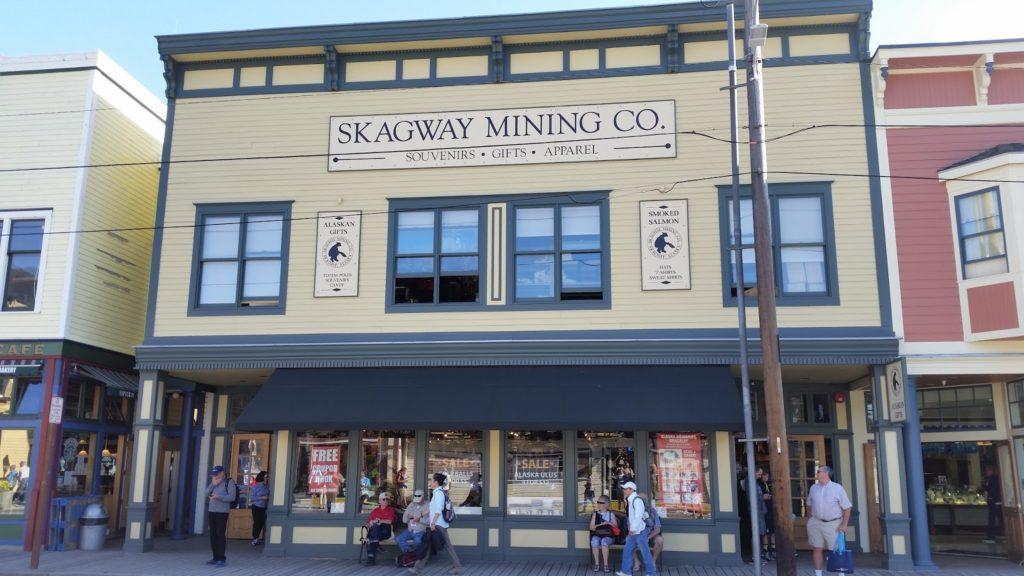 Skagway building