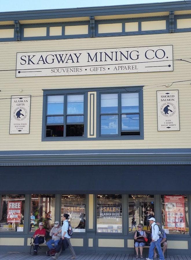 Skagway mining shop
