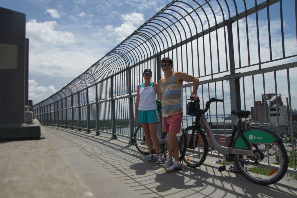 Bike riding Montreal
