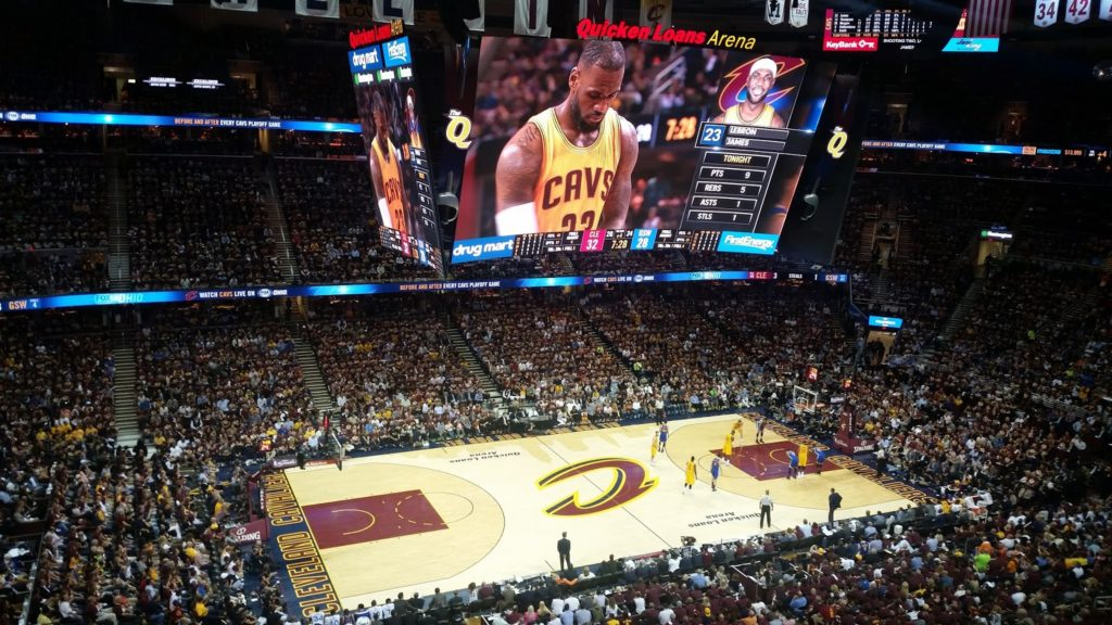 LeBron James free throw