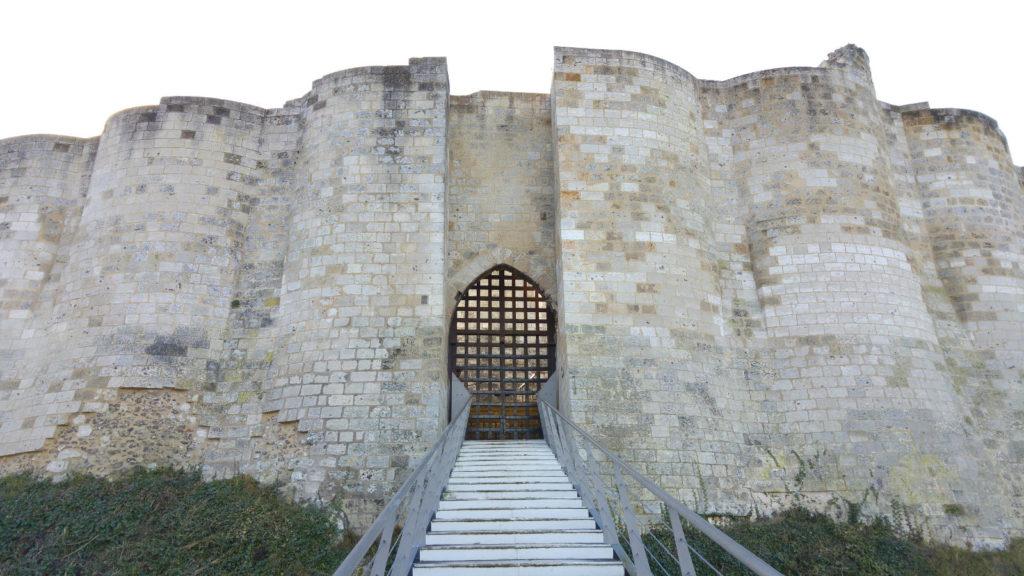 Castle Gaillard door
