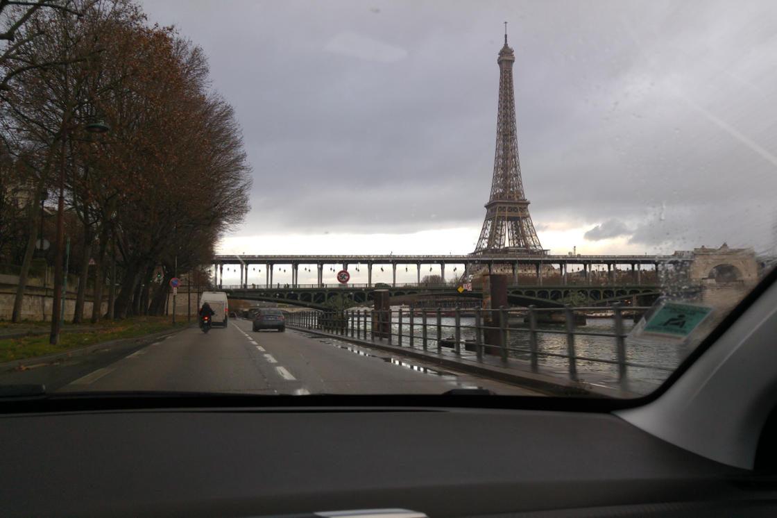 Driving to Paris