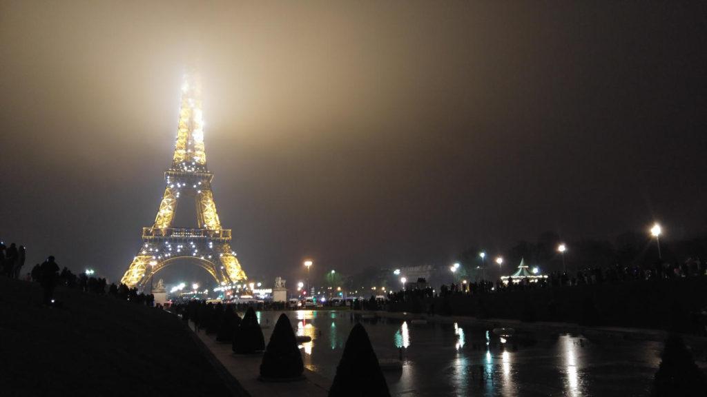 Eiffel Tower NYE