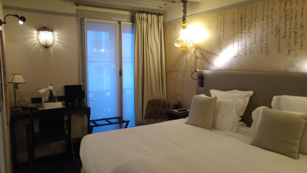 Hotel Da Vinci room