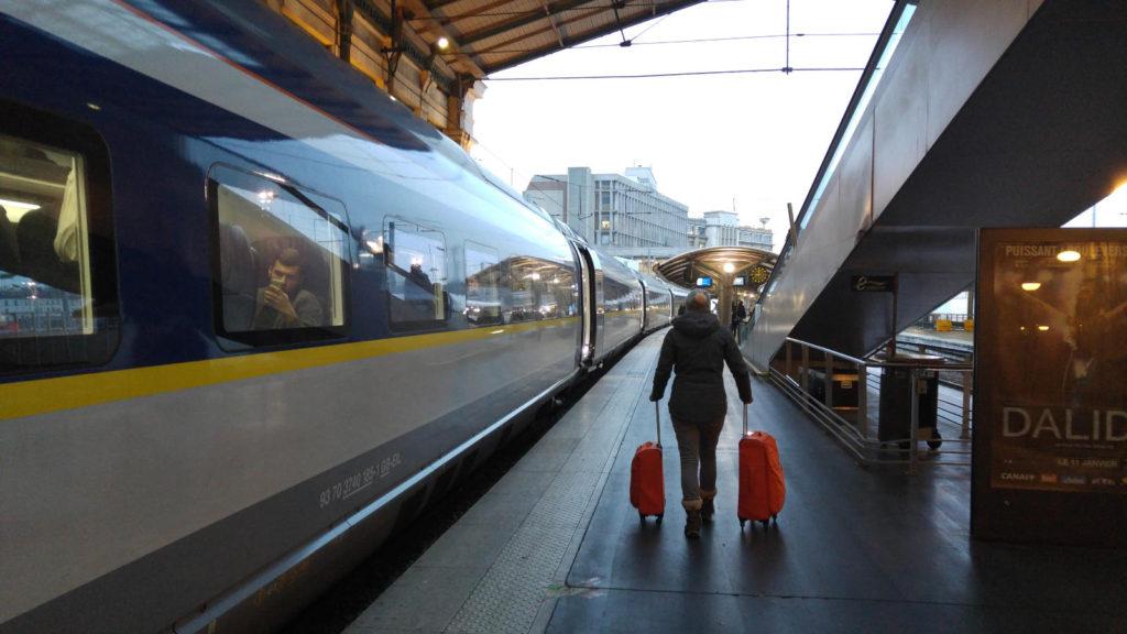 Linnie Eurostar luggage