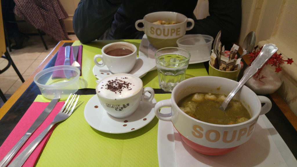 Lunch in Tours
