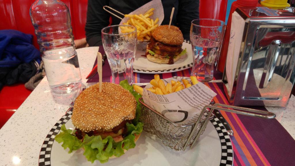 Nantes vegie burgers