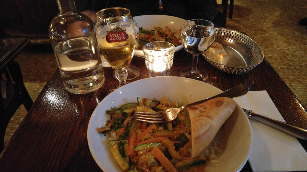 Paris vegie curry
