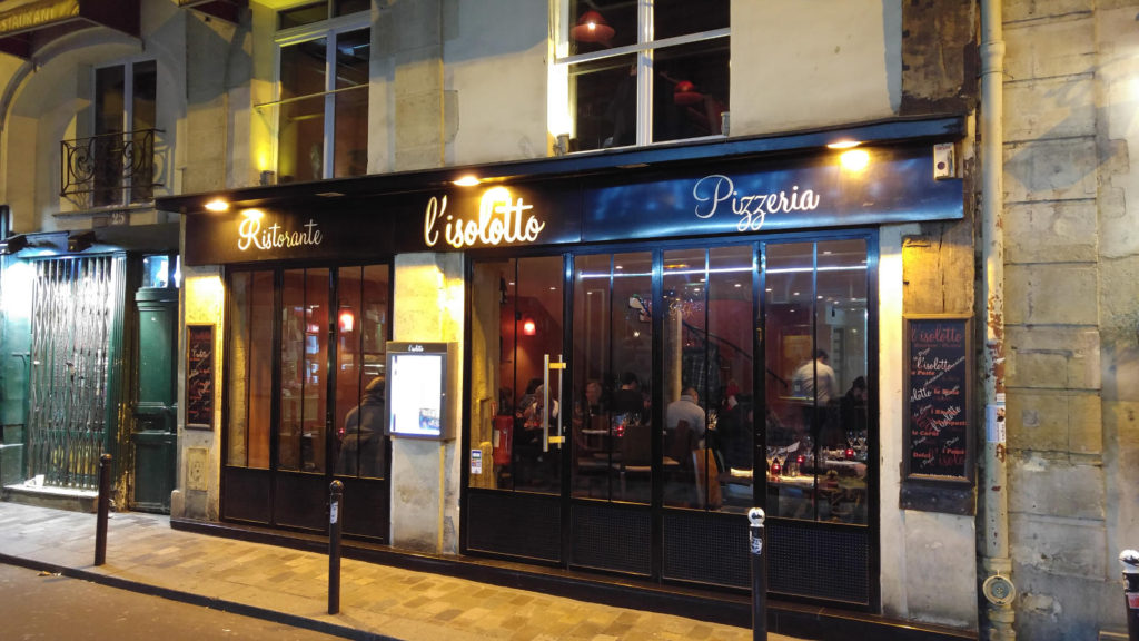 Paris Pizza shop