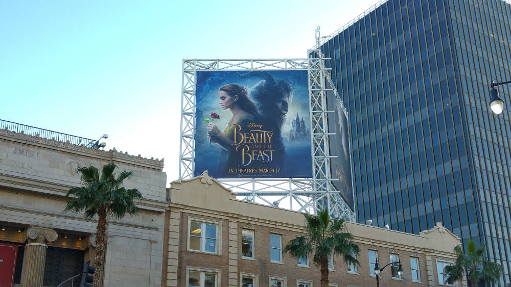 Beauty and the Beast Hollywood