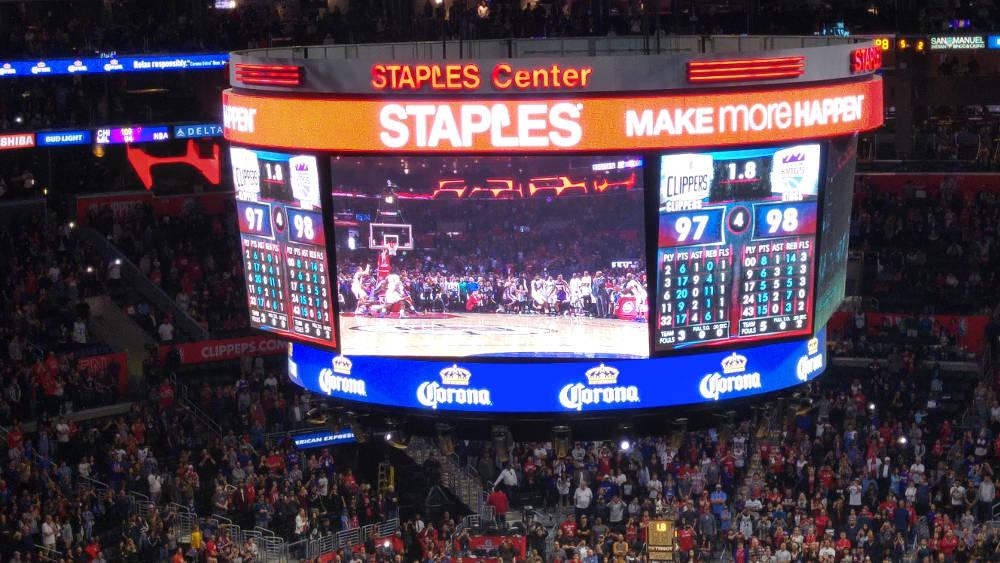 Clippers Kings score