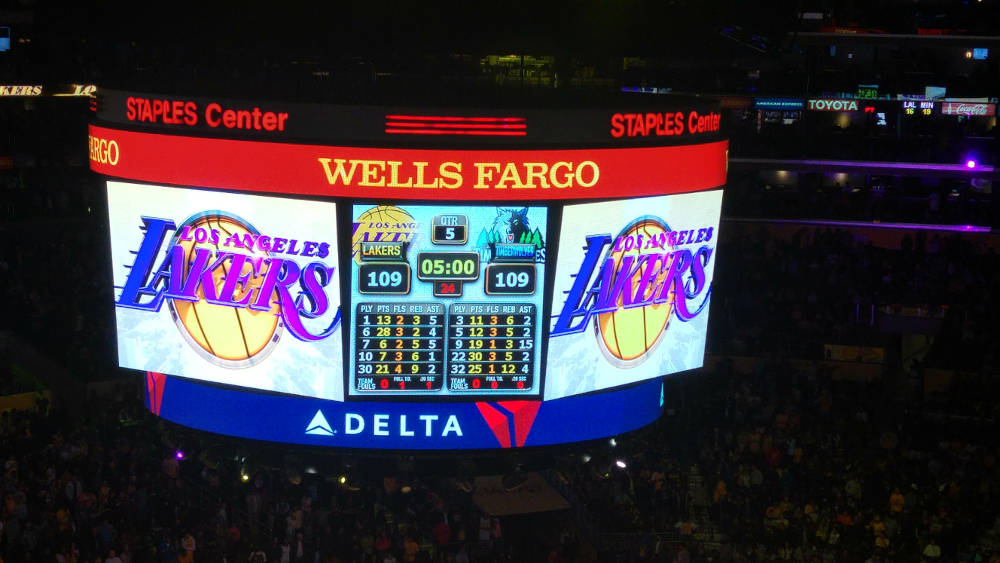 Lakers Timbewolves overtime