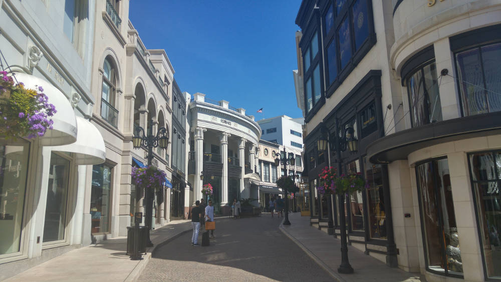 Rodeo Drive shops