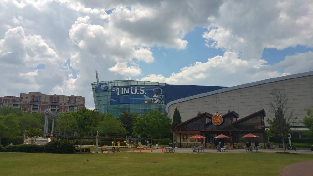Atlanta Aquarium area