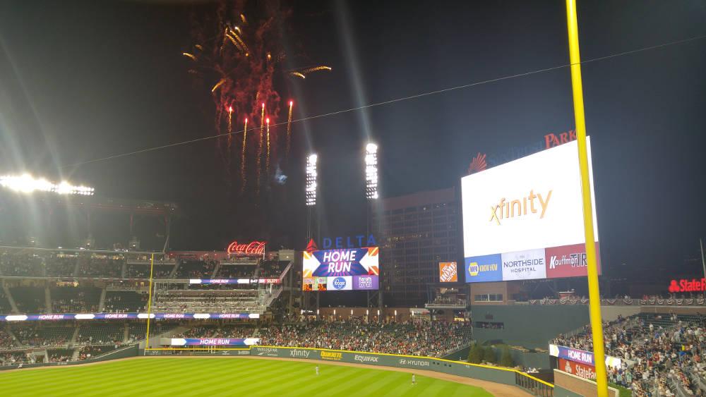 Atlanta Braves home run