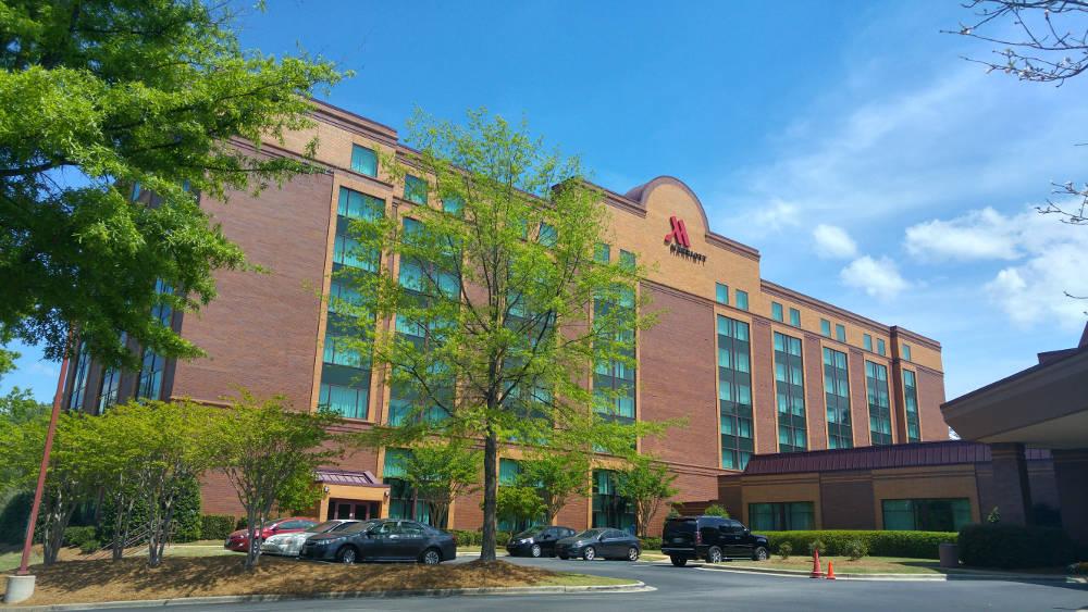 Birmingham Marriott building