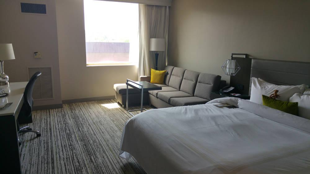 Birmingham Marriott room