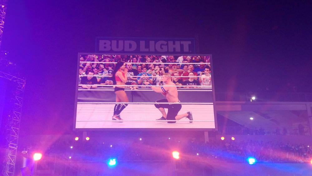 John Cena & Nikki Bella proposal