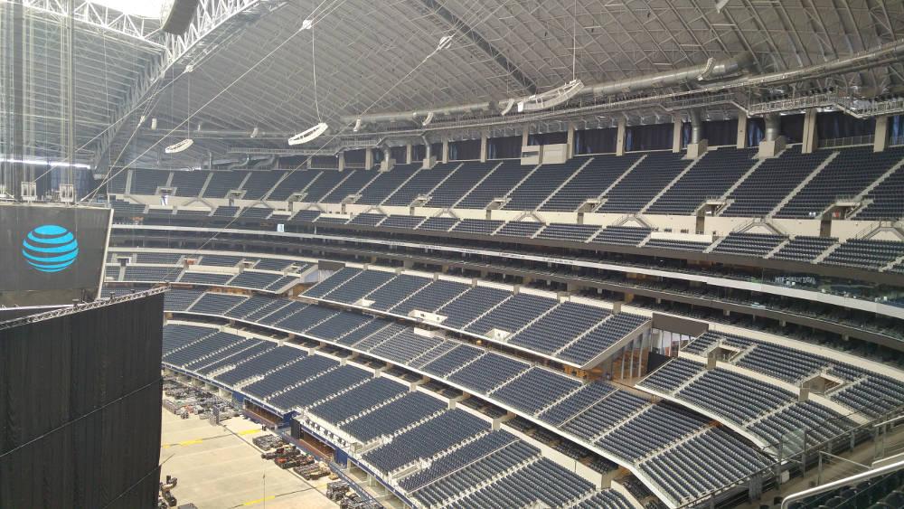 Cowboy Stadium seats