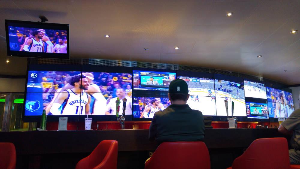 Cruise sports bar