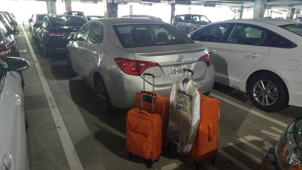 Goodbye car in Atlanta