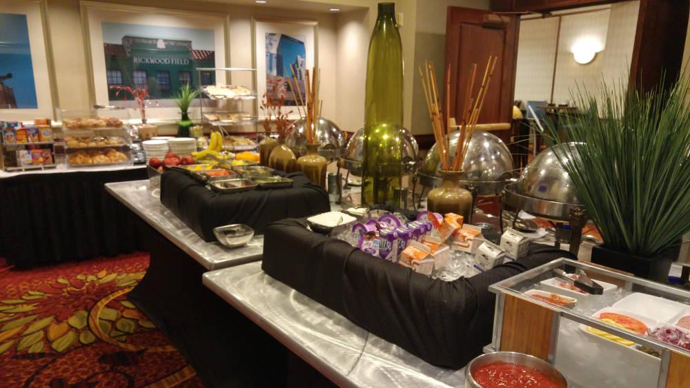 Birmingham Marriott breakfast
