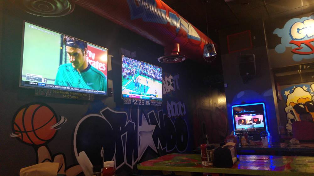 Orlando sports bar