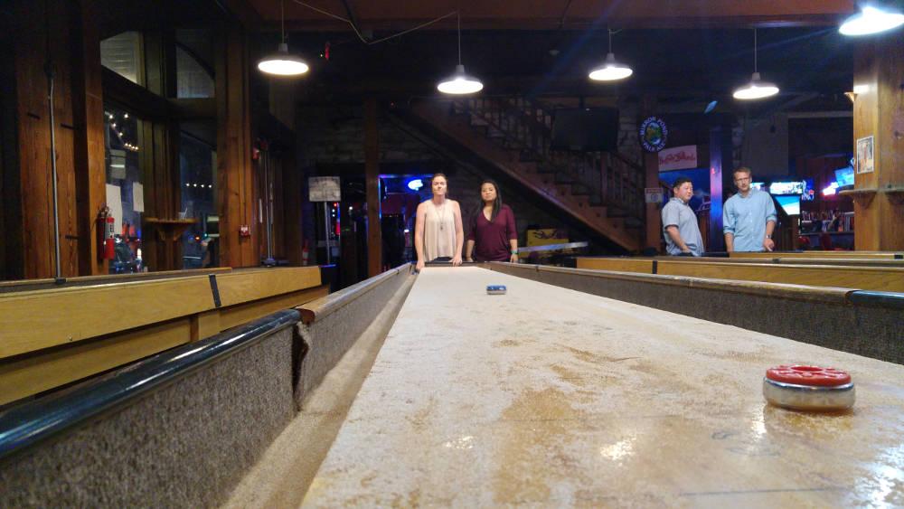 Shuffle Board in Austin