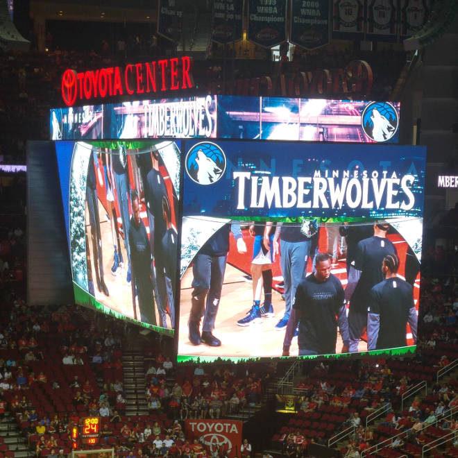 Timberwolves @ Houston