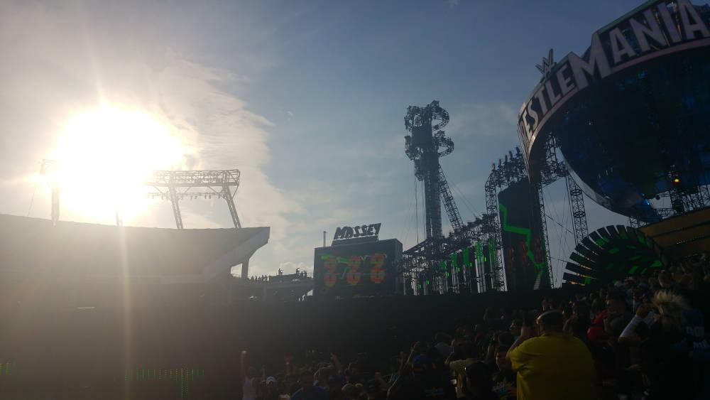 Wrestlemania sun