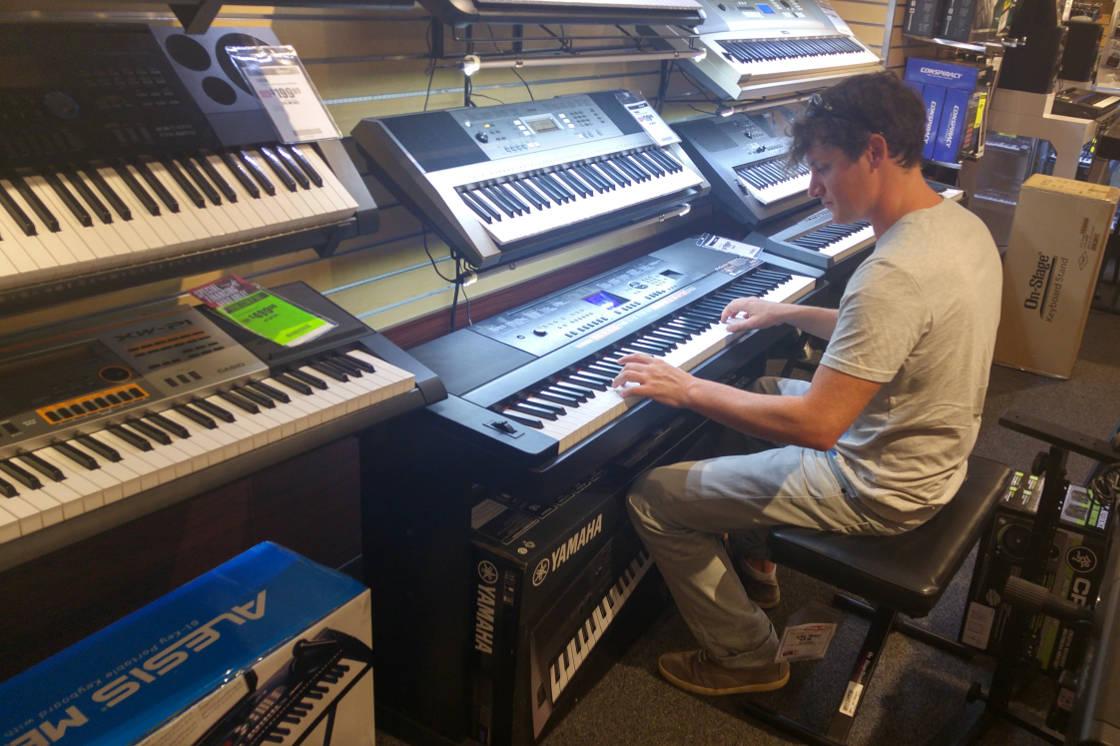 Adam digital pianos
