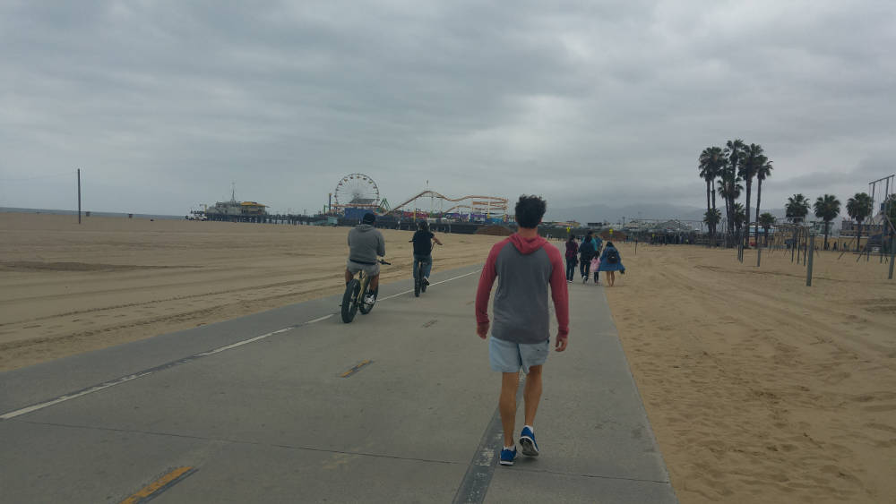 Adam LA walk