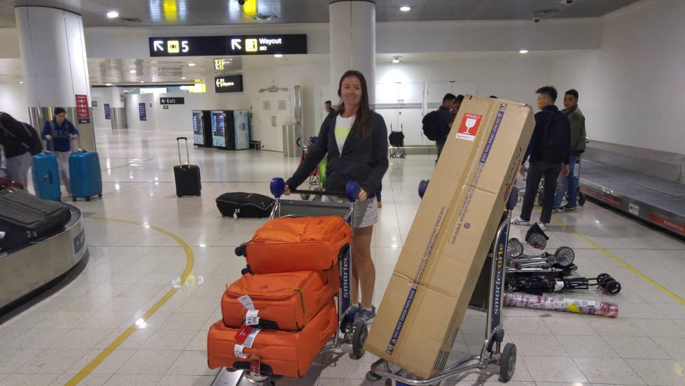 Back home luggage