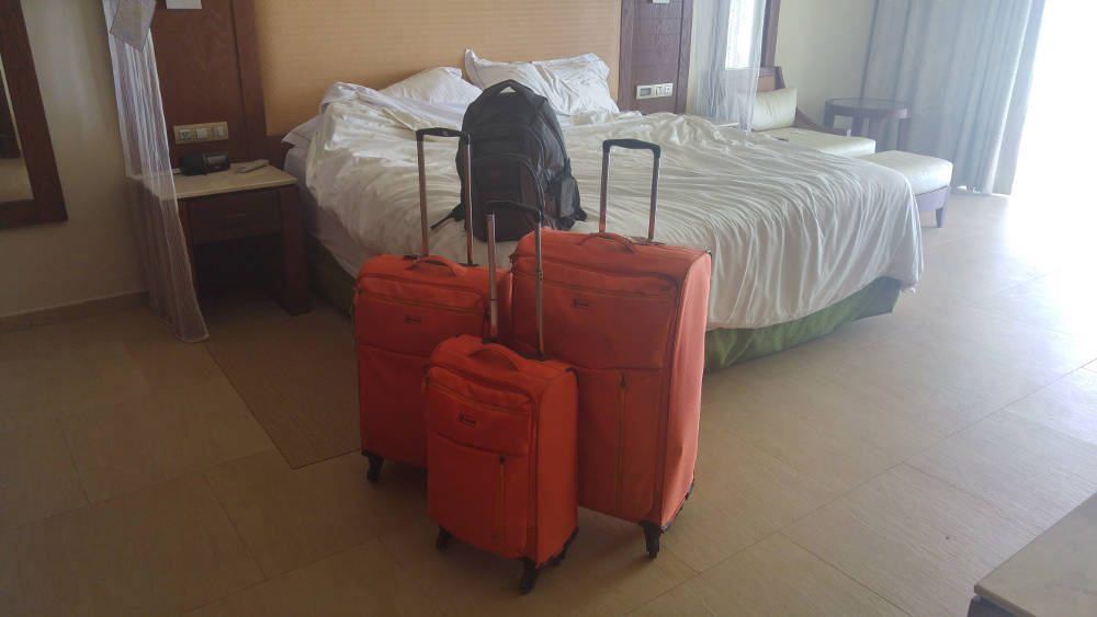 Bags packed in Dominican Republic