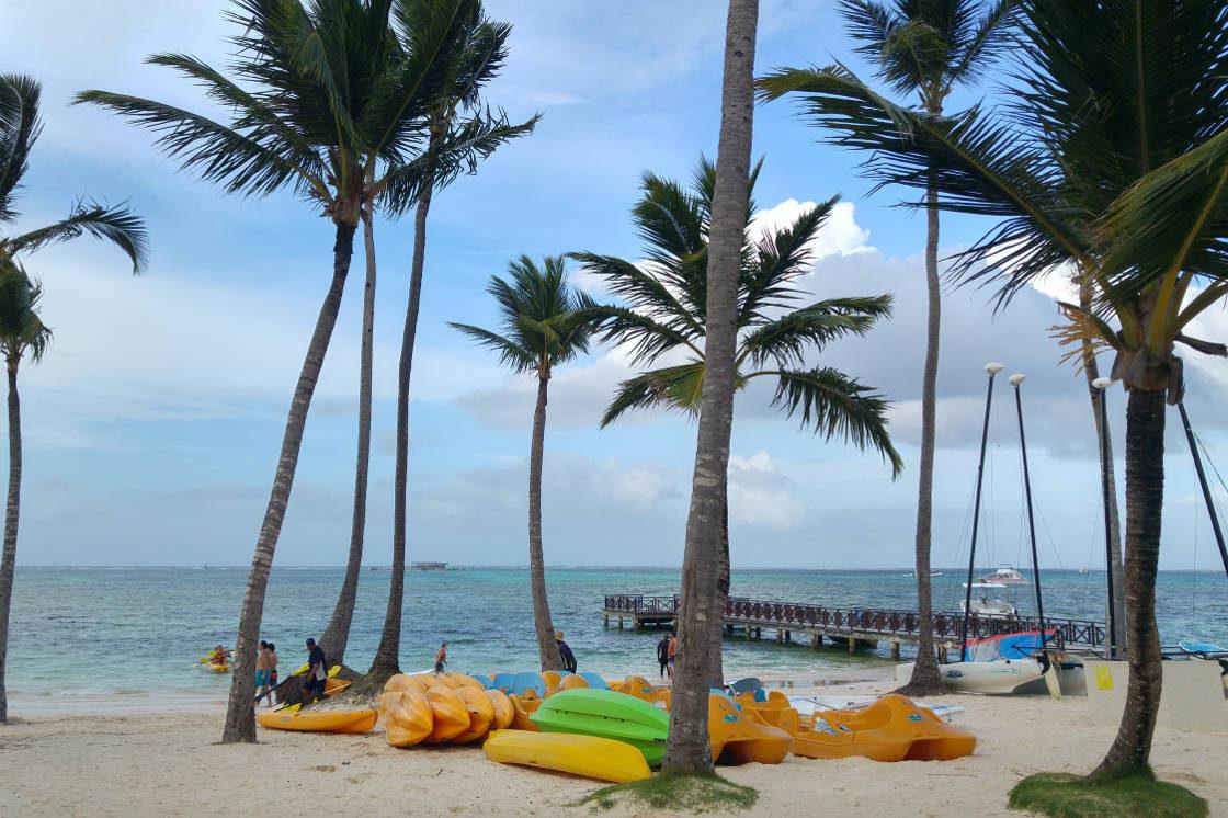 Bavaro Beach kayaking