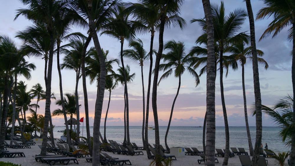 Beach at sunset again