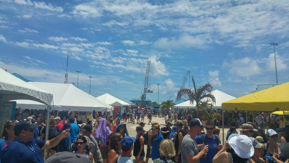 Cayman Islands queue