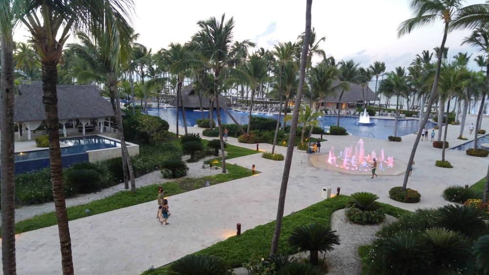Fountain area