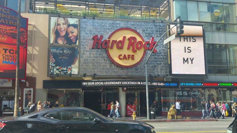 Hollywood Hard Rock Cafe