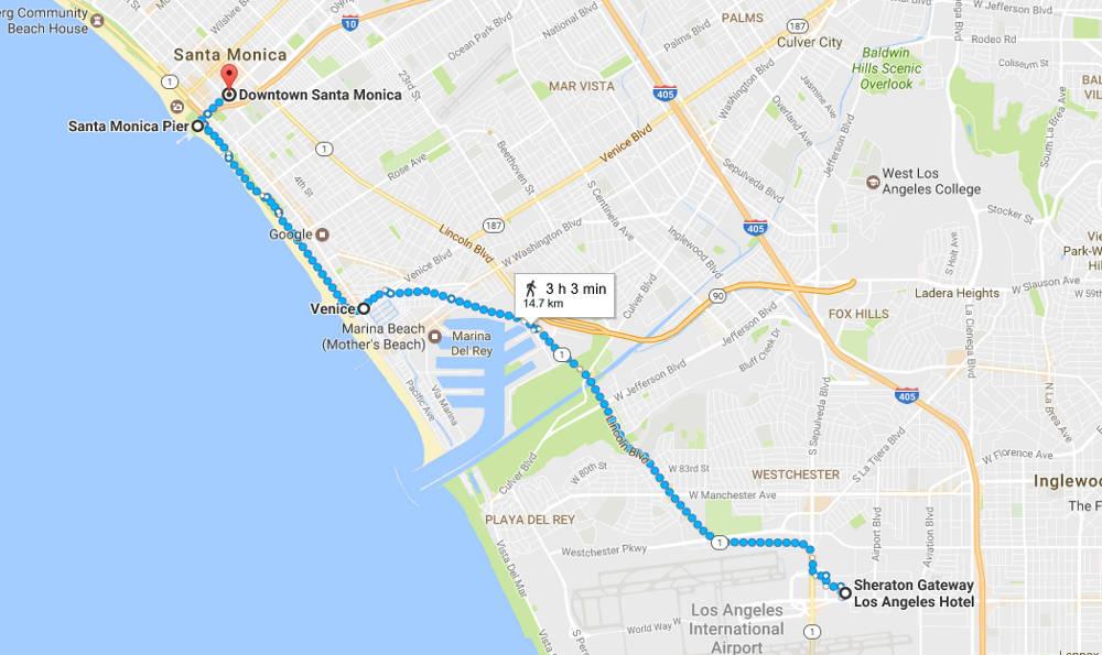 Los Angeles walk