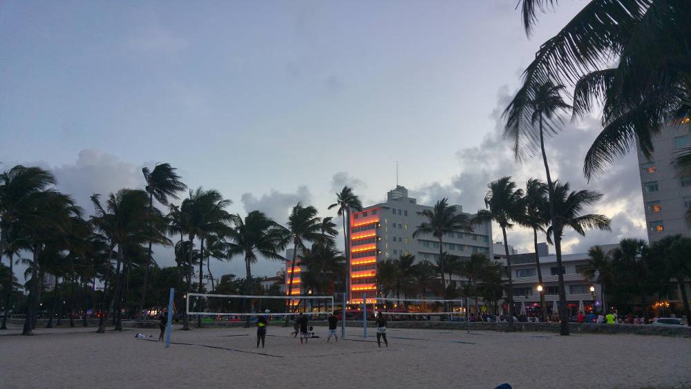 Miami volley ball