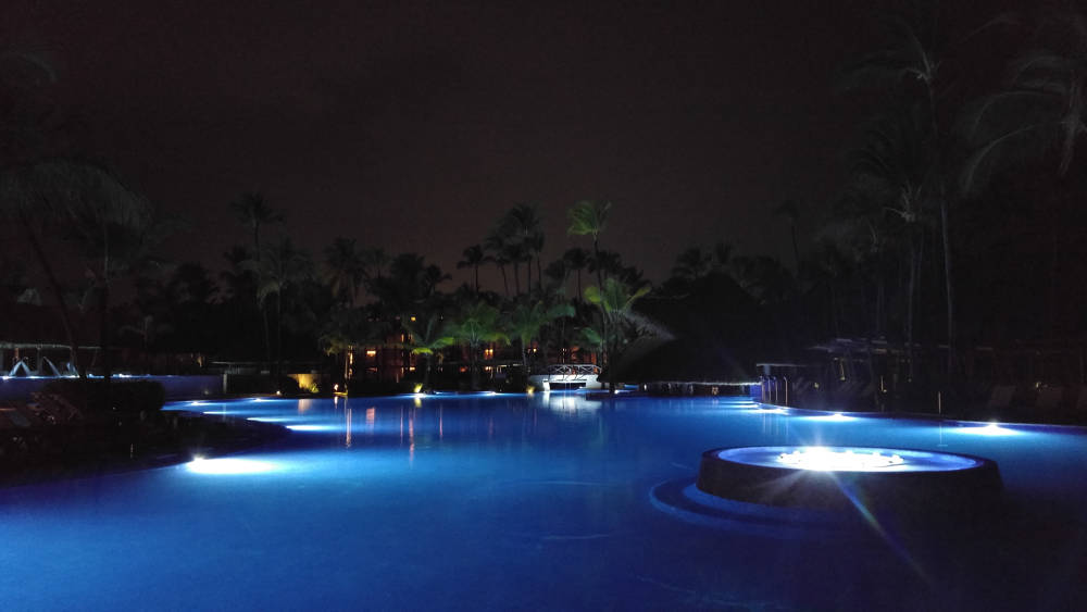 Night pool at Bavaro Beach