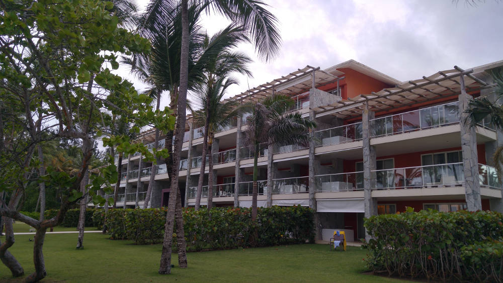 Our suite at Barcelo