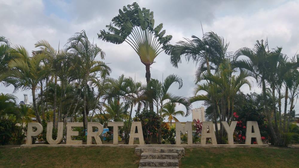 Puerta Maya without