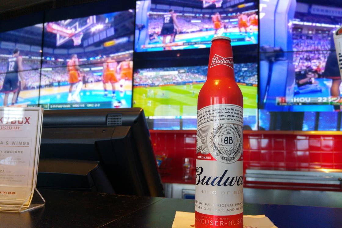 Sports beer header