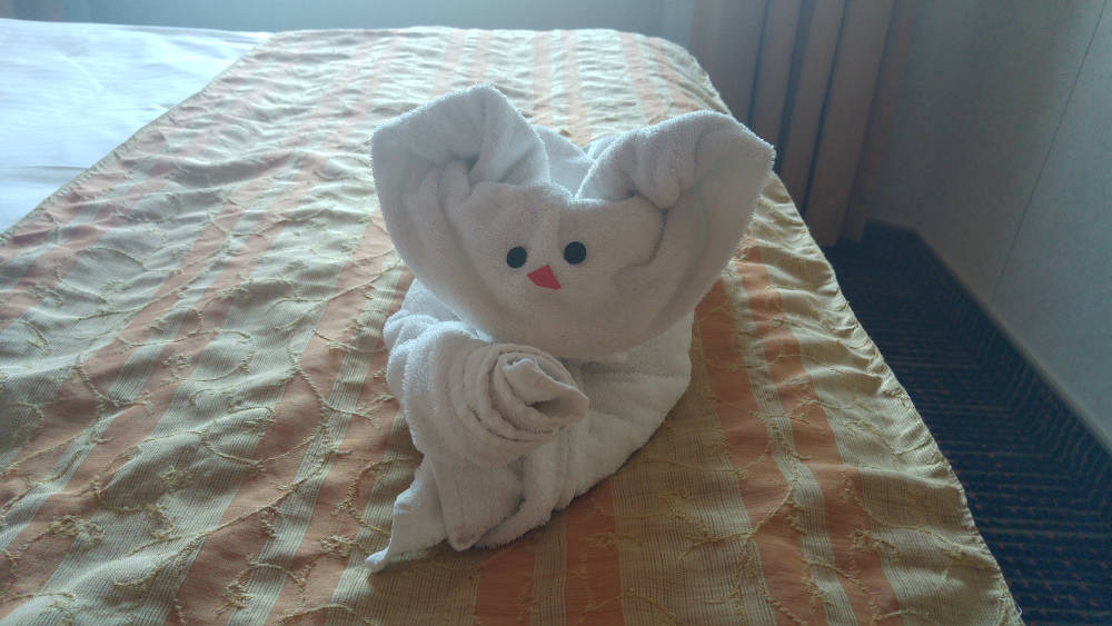 Towel friend