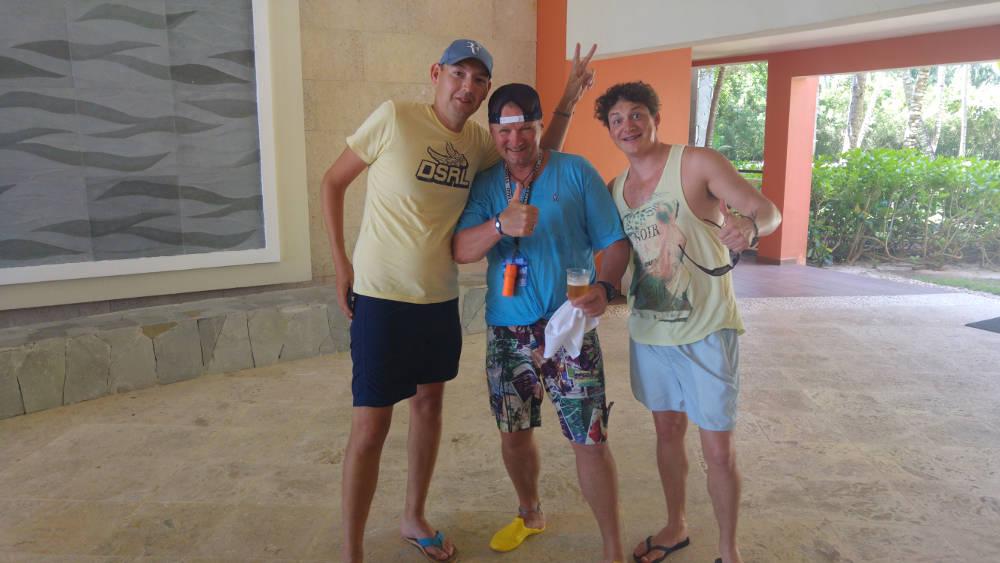Yuri, Mark, Adam