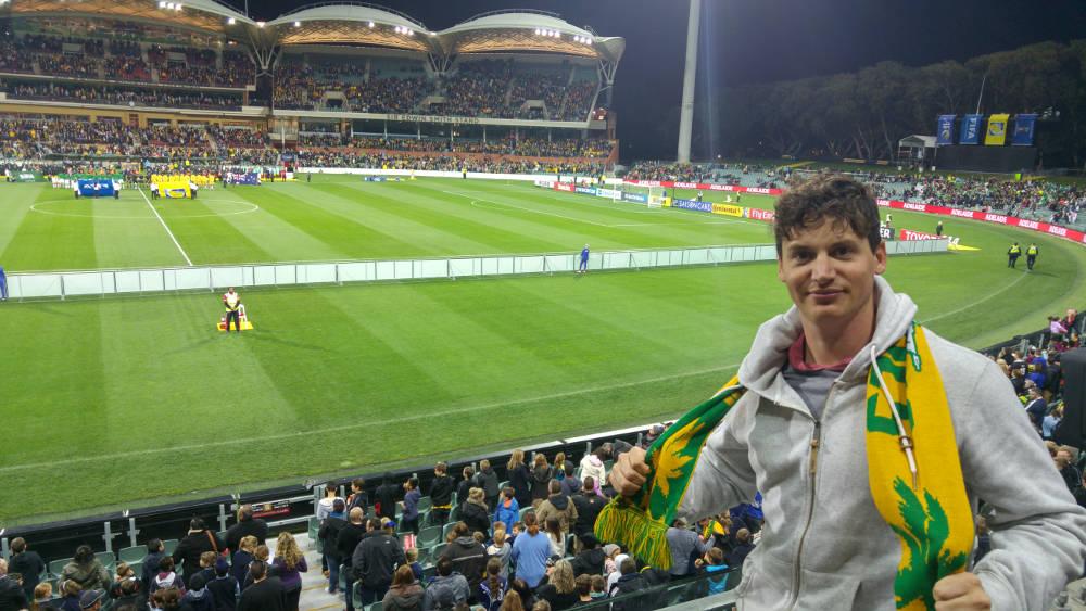 Adam Socceroos Adelaide